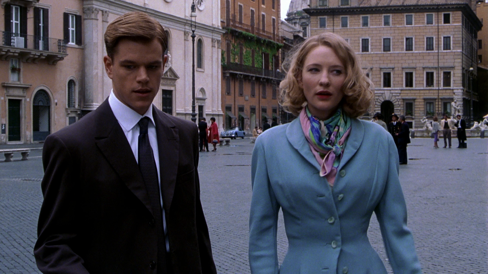 天才雷普利 The Talented Mr. Ripley Matt Damon & Cate Blanchatt