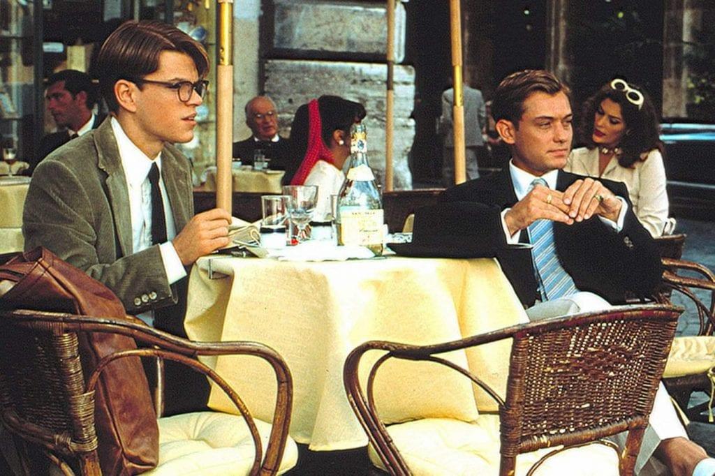 Jude Law and Matt Damon in Talented Mr. Ripley