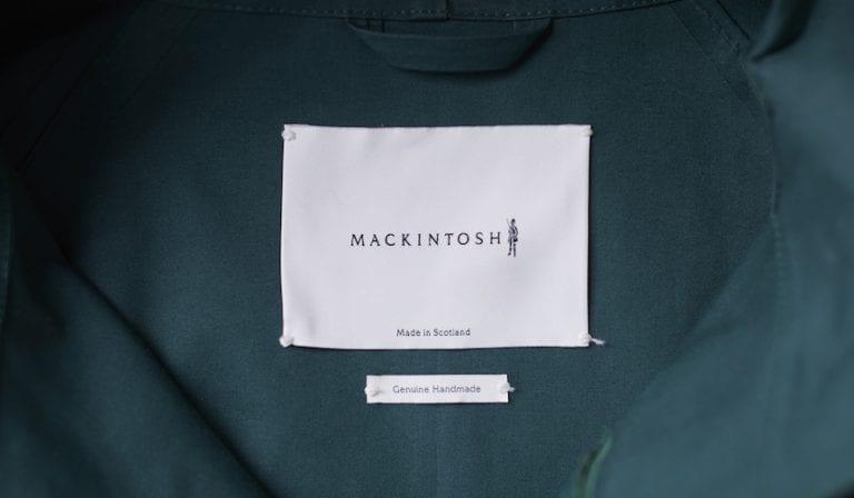 Mackintosh, 圈内人的防水风衣