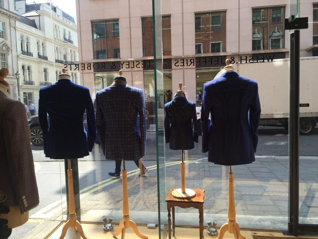 welsh & jefferies, Savile Row