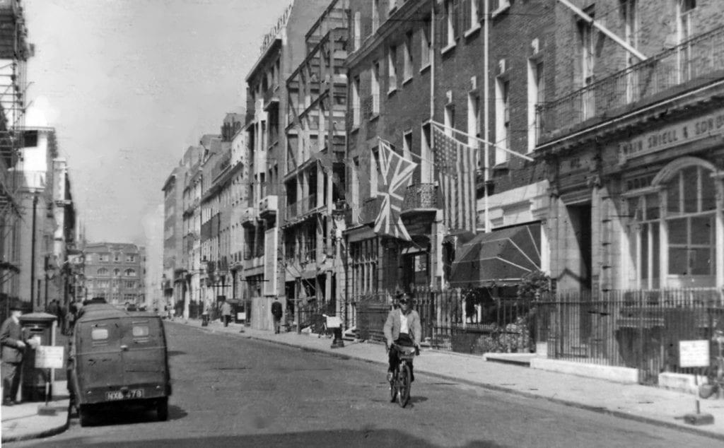 Savile Row 1955