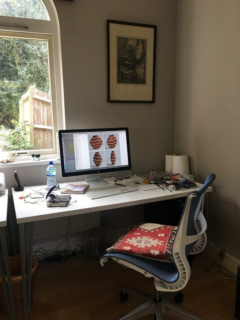 Caroline Cole Working Desk
