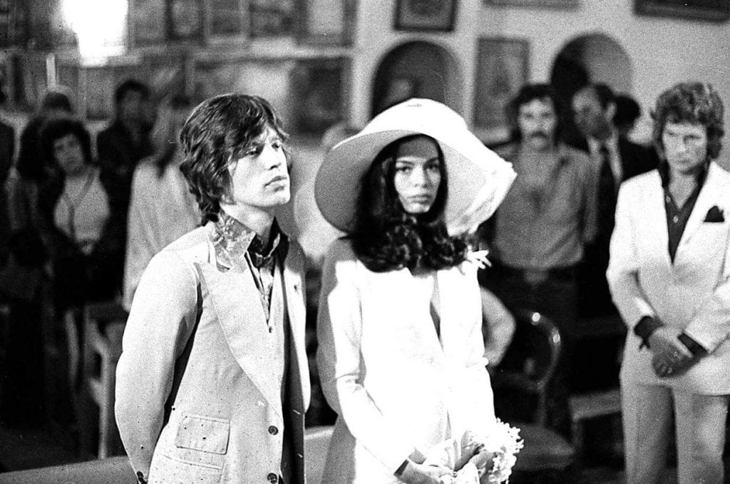 Bianca Jagger & Mike Jagger