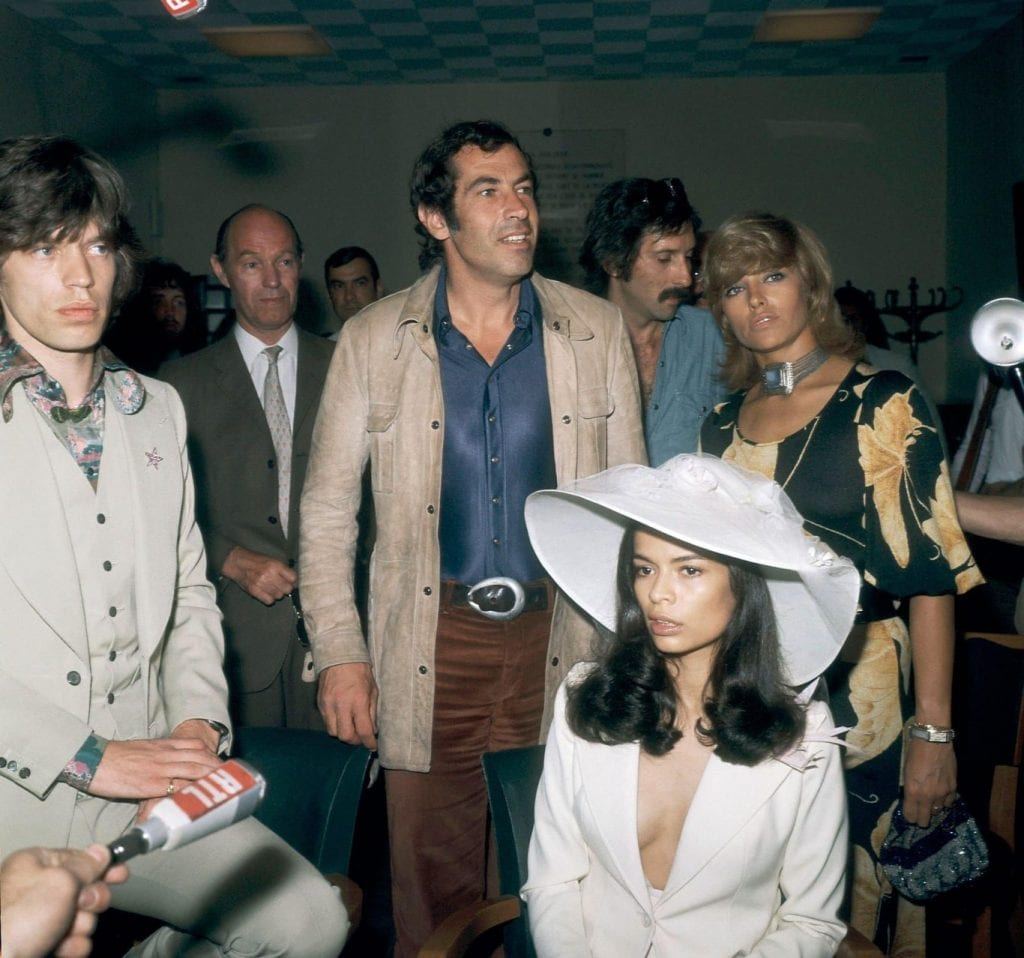 Mike Jagger & Bianca Jagger
