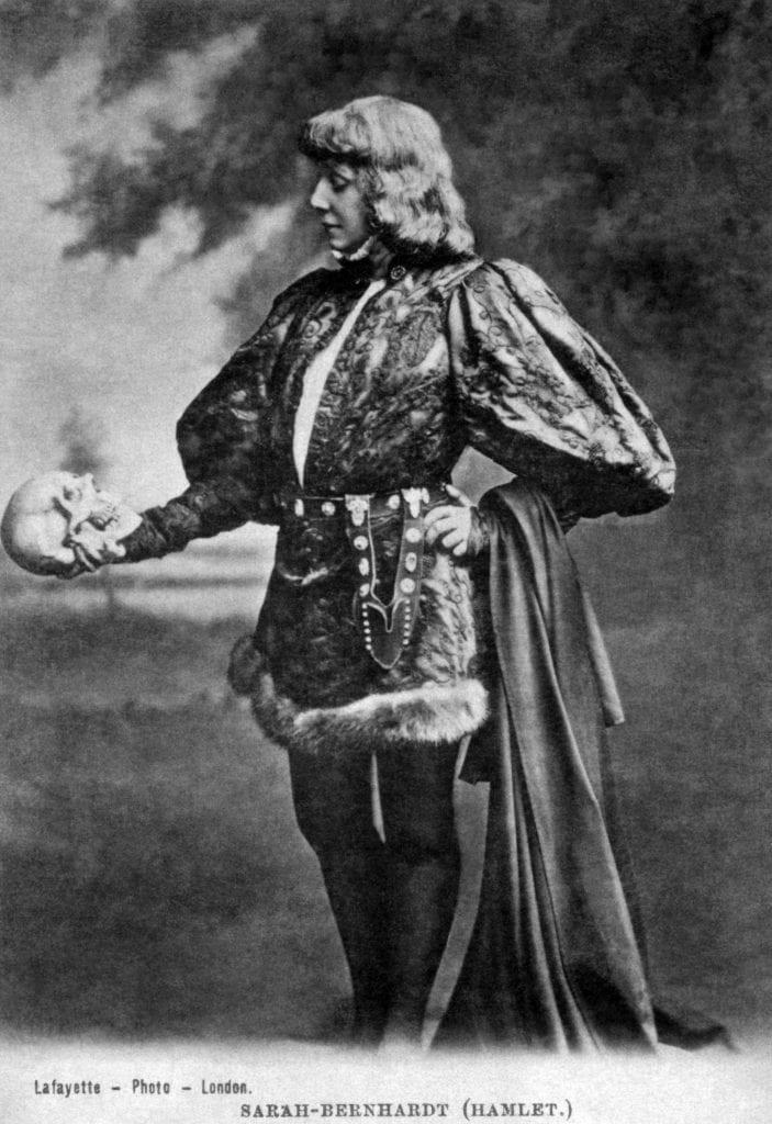 Sarah Bernhardt Hamlet