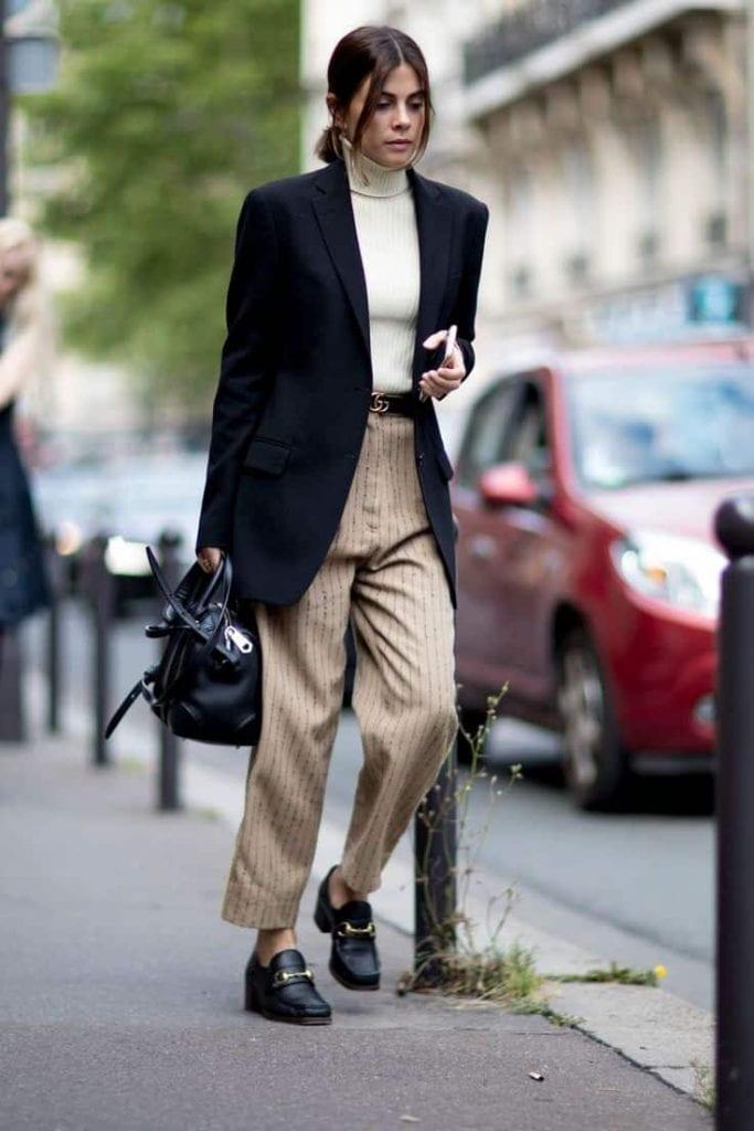 PFW fashion week street style