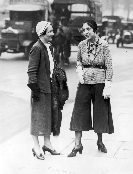 Elsa Schiaparelli in Pants