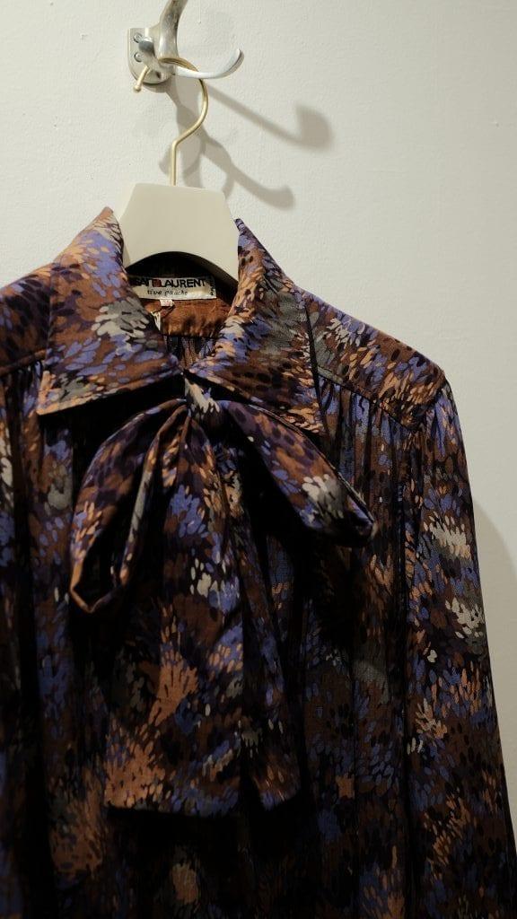 Yves Saint Laurent River Gauche_The Vintage Dress by Agnes'Select