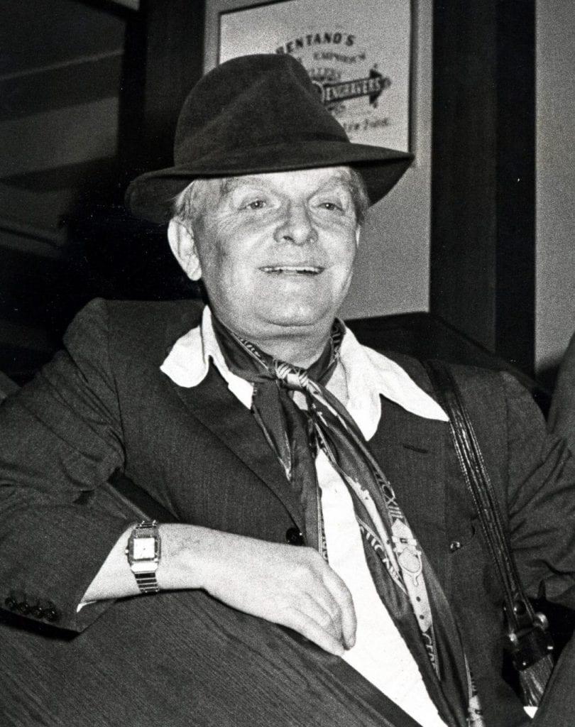 Truman Capote in Cartier Santos