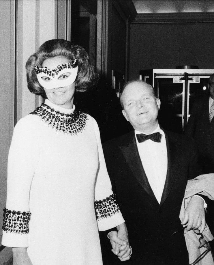 Truman Capote & Katherine Graham, Black & White Ball