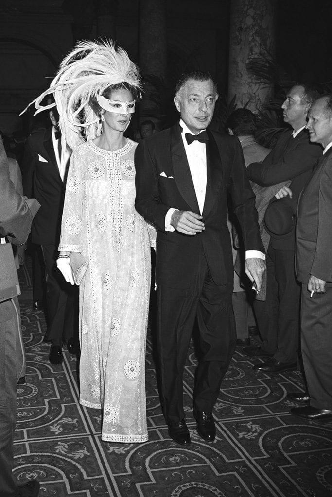 Black & White Ball, Gianni and Marella Agnelli.