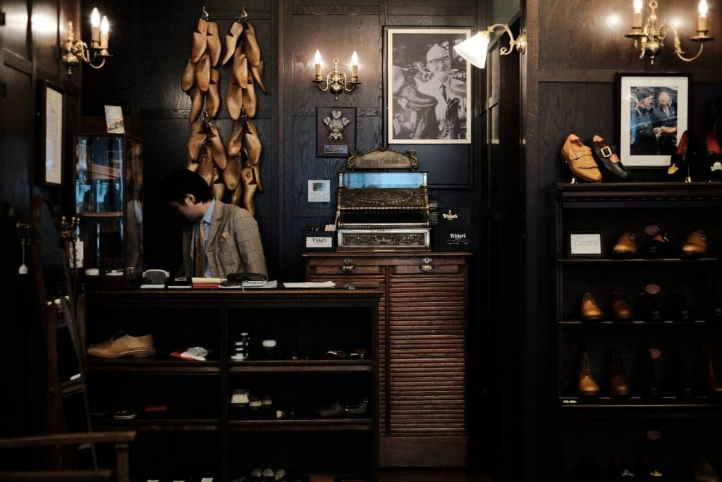 Tricker's Aoyama Store