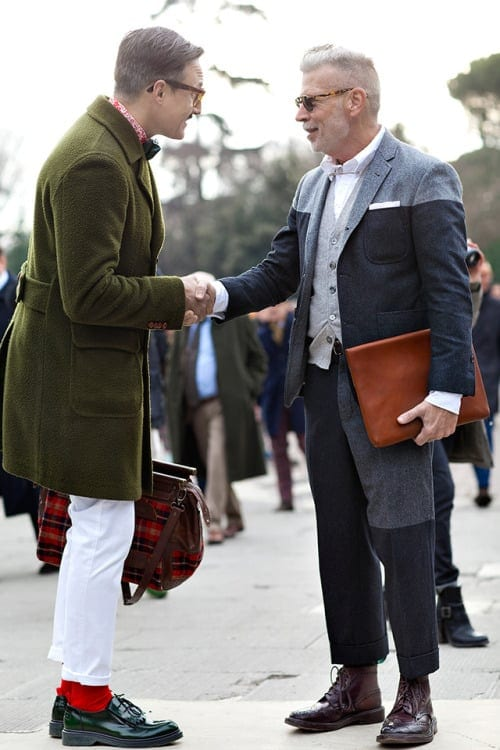 Nick Wooster in Tricker's