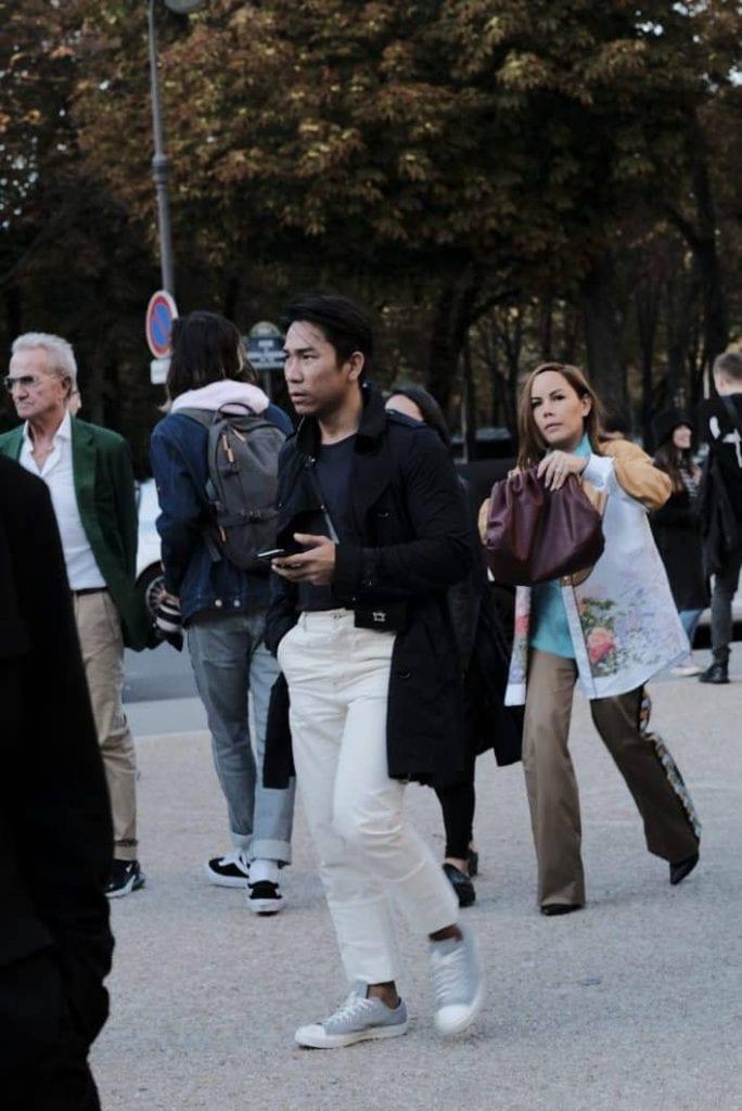 Yohji Yamamoto 2020 Street Style by Agnes G.