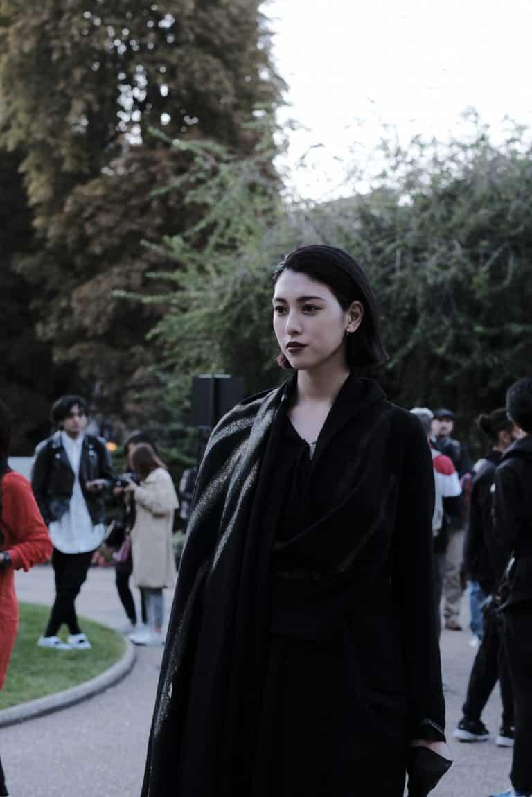 Yohji Yamamoto 2020 S/S Femme Street Style