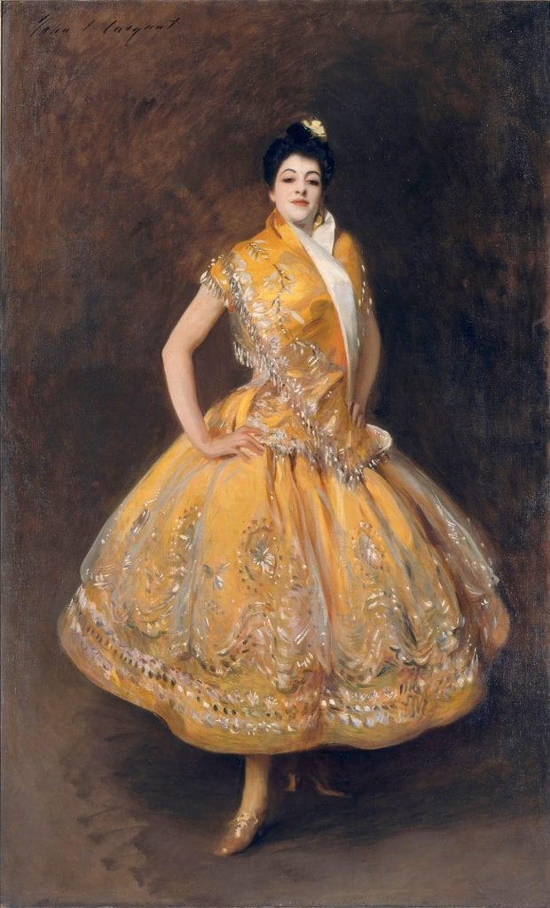 John Singer Sargent, La Carmencita, ca. 1890 Photo: © RMN – Grand Palais, Gérard Blot